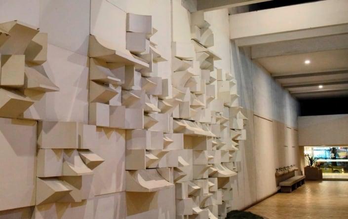 J.C.Galvão - Relevo Concreto - Arte