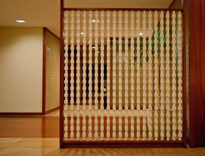 Jorge de Souza Hue - Biombo madeira pintada - Arte
